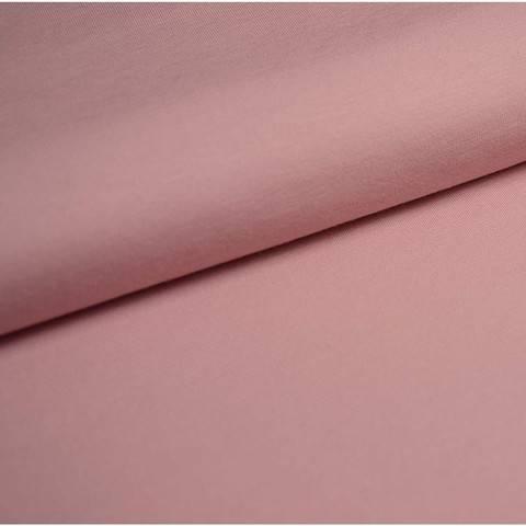 Bündchenstoff Uni: zartrosa - 35 cm im Makerist Materialshop