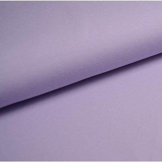 Bündchenstoff Uni: flieder - 35 cm im Makerist Materialshop - Bild 1