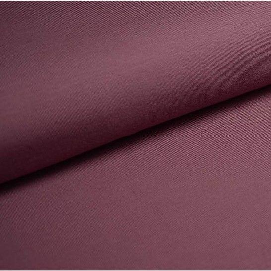 Bündchenstoff Uni: lavendel - 35 cm im Makerist Materialshop - Bild 1