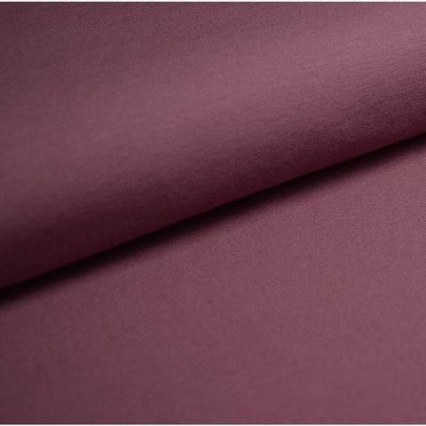 Bündchenstoff Uni: lavendel - 35 cm im Makerist Materialshop