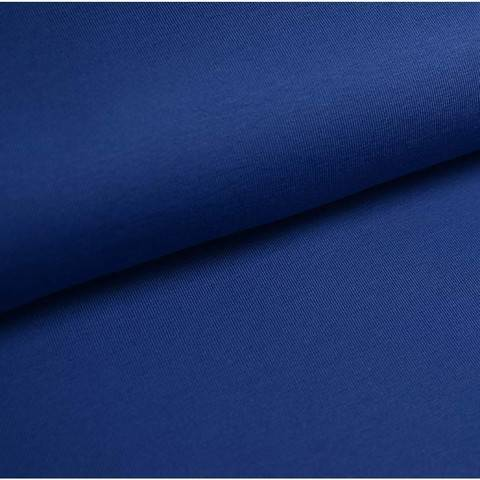 Bündchenstoff Uni: jeans - 35 cm im Makerist Materialshop