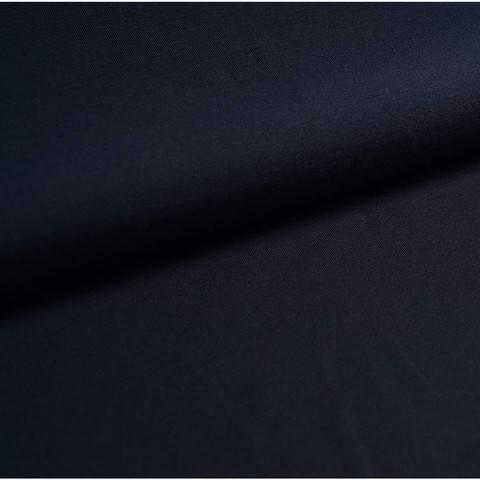 Bündchenstoff Uni: dunkelblau - 35 cm im Makerist Materialshop