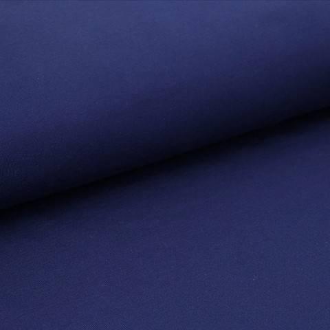 Bündchenstoff Uni: nachtblau - 35 cm im Makerist Materialshop