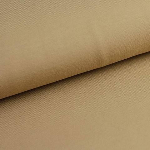 Bündchenstoff Uni: cappuccino - 35 cm im Makerist Materialshop