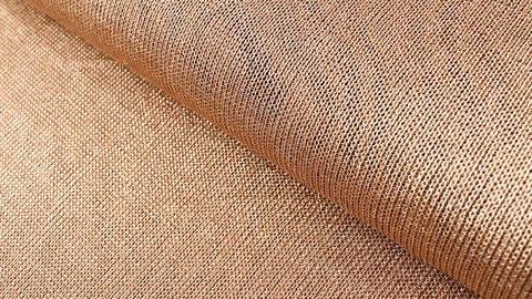 Viskose-Metallstoff bronze elastisch: Kettengeflecht - 150 cm im Makerist Materialshop