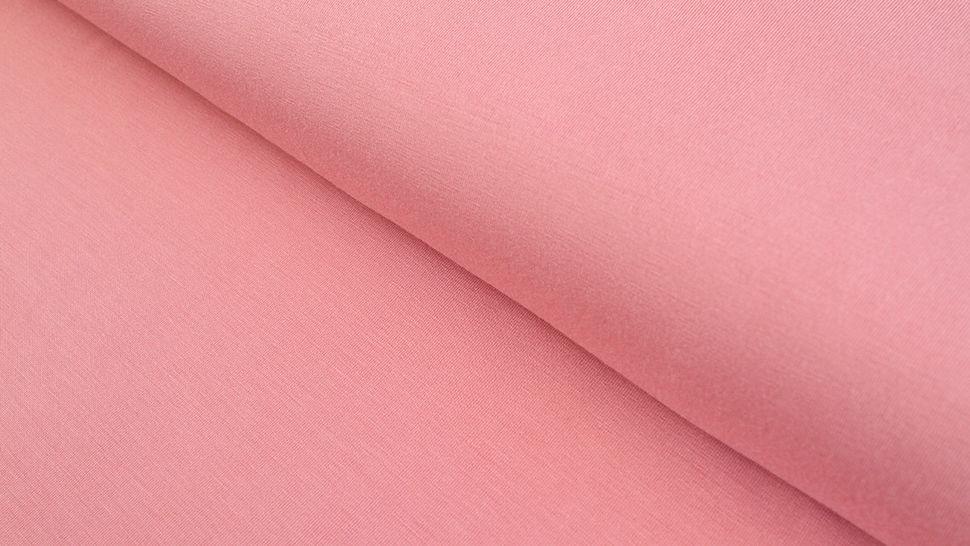 Modalstoff rosa uni - 145 cm im Makerist Materialshop - Bild 1