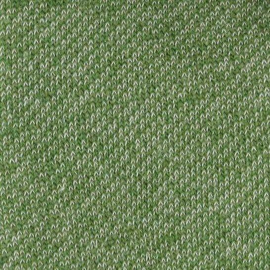 Lammfleece uni meliert: grün im Makerist Materialshop - Bild 1