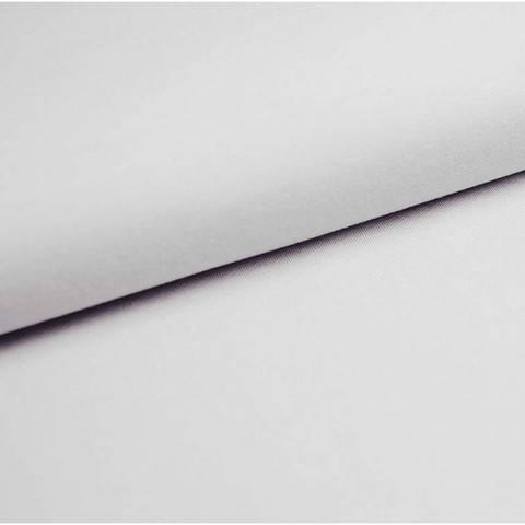 Baumwolljersey Uni: weiß - 150 cm im Makerist Materialshop