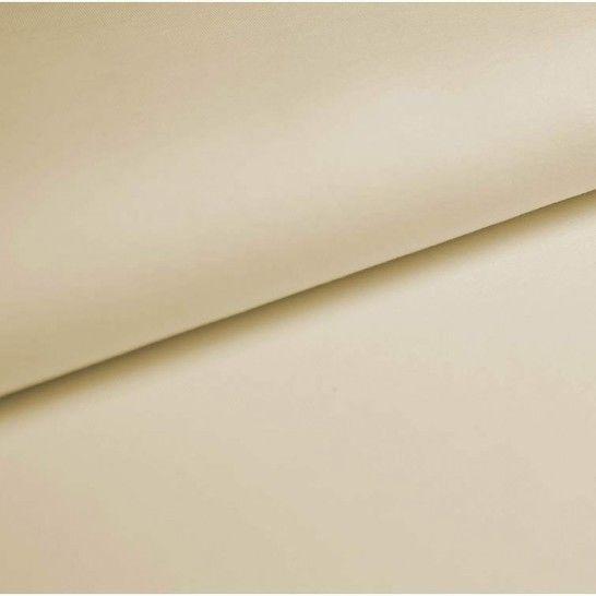 Baumwolljersey Uni: creme - 150 cm im Makerist Materialshop - Bild 1