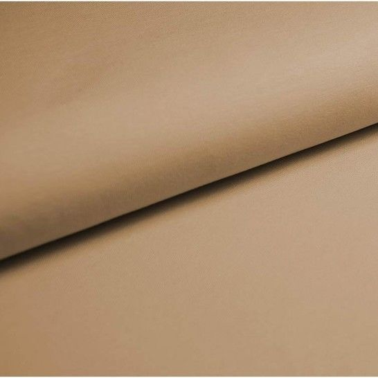 Baumwolljersey Uni: beige - 150 cm im Makerist Materialshop - Bild 1