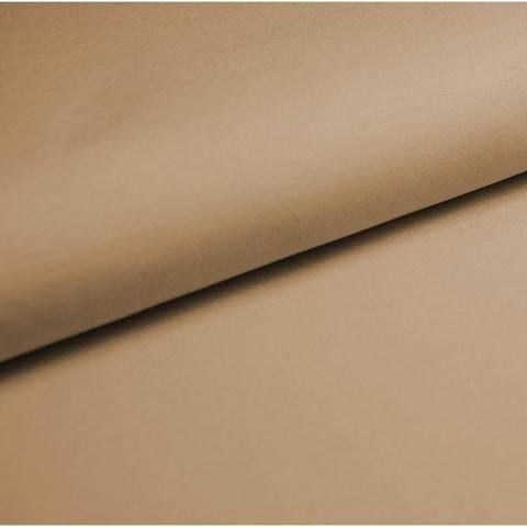 Baumwolljersey Uni: beige - 150 cm im Makerist Materialshop