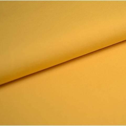 Baumwolljersey Uni: zitrone - 150 cm im Makerist Materialshop