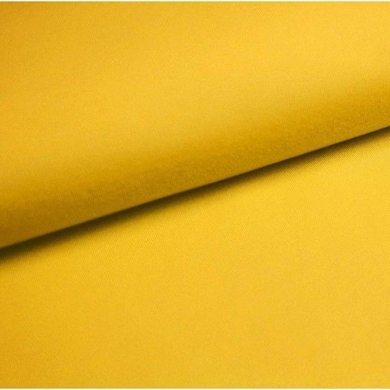 Baumwolljersey Uni: sonne - 150 cm im Makerist Materialshop - Bild 1