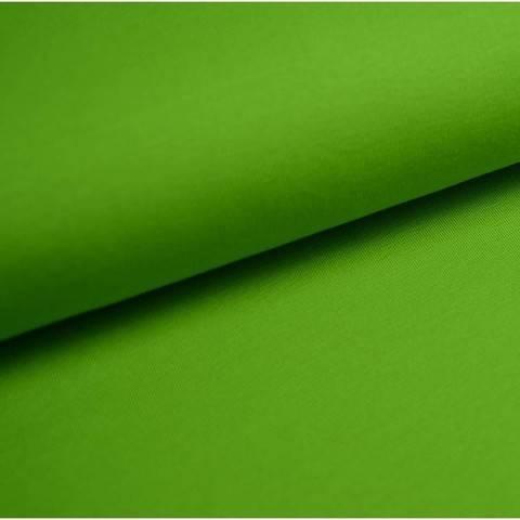 Baumwolljersey Uni: kiwi - 150 cm im Makerist Materialshop