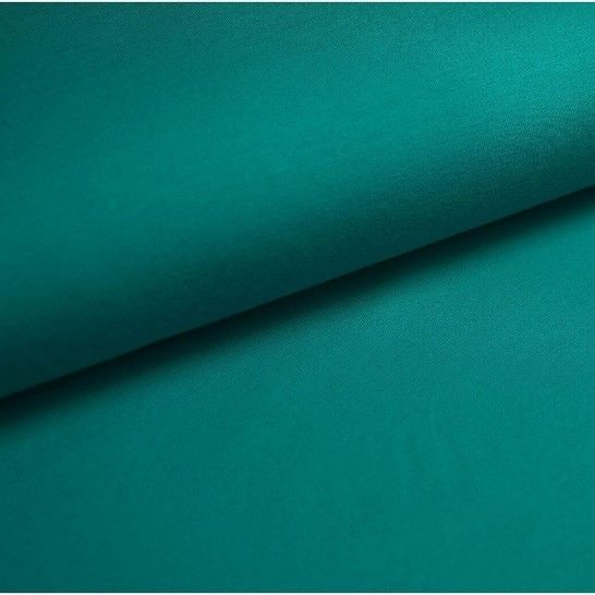 Baumwolljersey Uni: jade - 150 cm im Makerist Materialshop - Bild 1