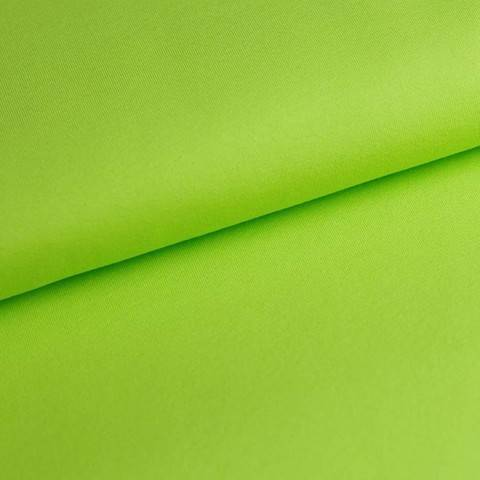 Baumwolljersey Uni: lime - 150 cm im Makerist Materialshop