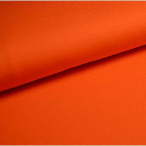 Baumwolljersey Uni: orange - 150 cm im Makerist Materialshop