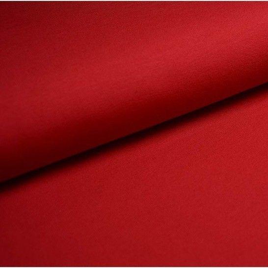 Baumwolljersey Uni: dunkelrot - 150 cm im Makerist Materialshop - Bild 1