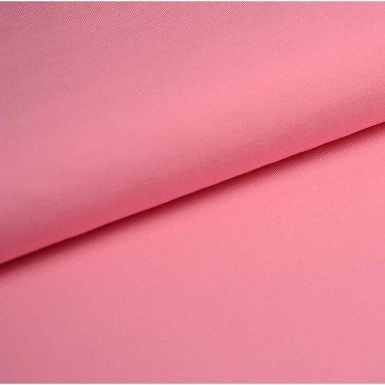 Baumwolljersey Uni: rosa - 150 cm im Makerist Materialshop - Bild 1