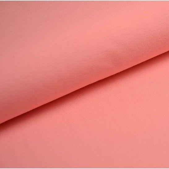 Baumwolljersey Uni: flamingo - 150 cm im Makerist Materialshop - Bild 1