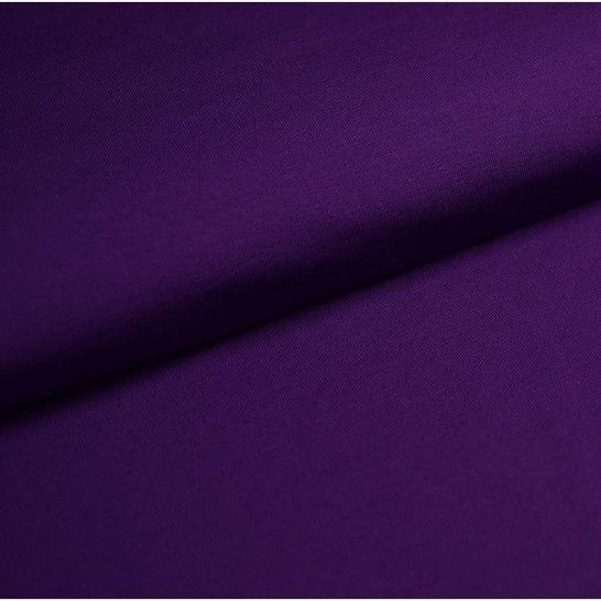 Baumwolljersey Uni: lila - 150 cm im Makerist Materialshop - Bild 1