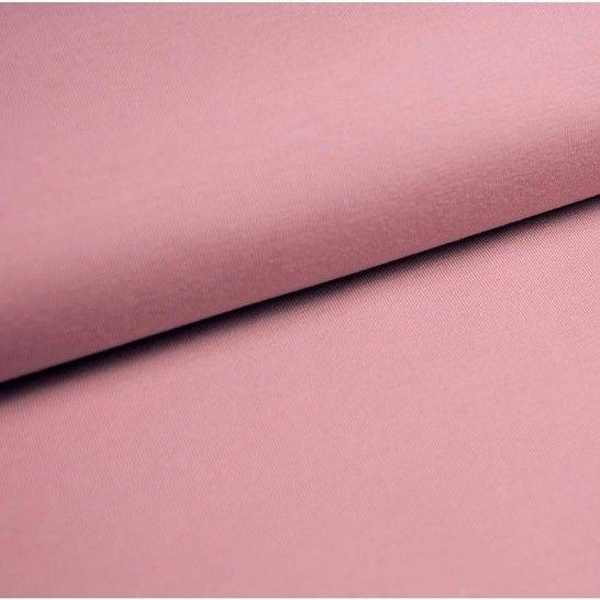 Baumwolljersey Uni: zartrosa - 150 cm im Makerist Materialshop - Bild 1