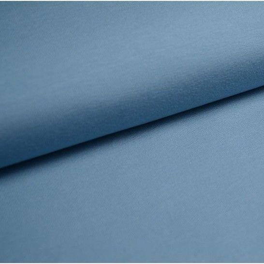 Baumwolljersey Uni: taubenblau - 150 cm im Makerist Materialshop - Bild 1