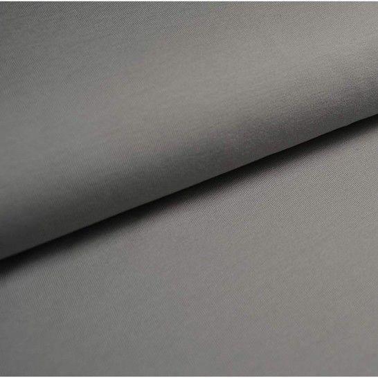Baumwolljersey Uni: hellgrau - 150 cm im Makerist Materialshop - Bild 1