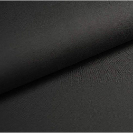 Baumwolljersey Uni: dunkelgrau - 150 cm im Makerist Materialshop - Bild 1