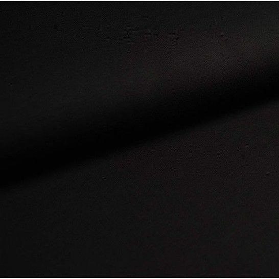 Baumwolljersey Uni: schwarz - 150 cm im Makerist Materialshop - Bild 1