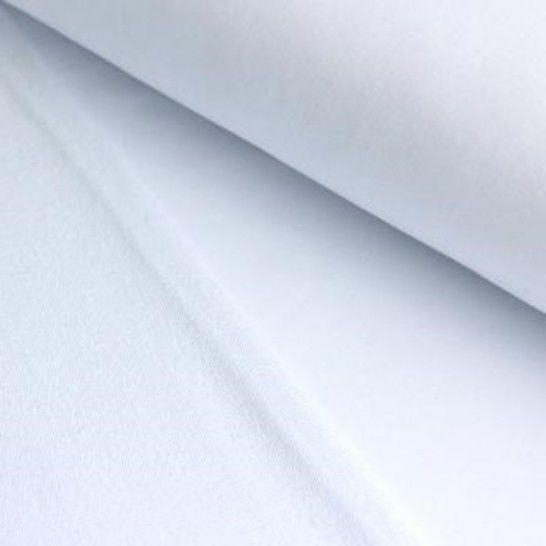 French Terry Uni aufgeraut - weiß im Makerist Materialshop - Bild 1