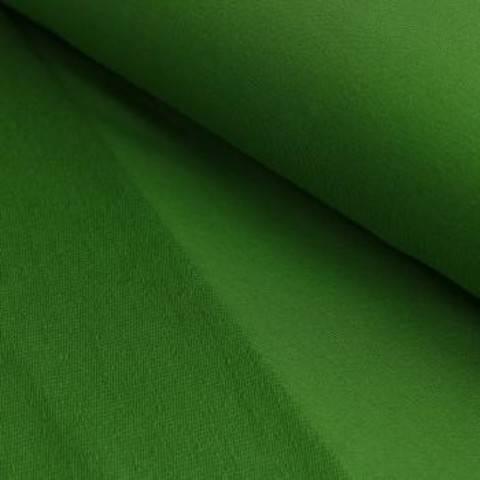 French Terry Uni aufgeraut - moosgrün im Makerist Materialshop