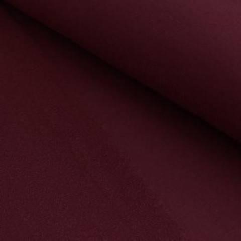 French Terry Uni aufgeraut - burgund im Makerist Materialshop