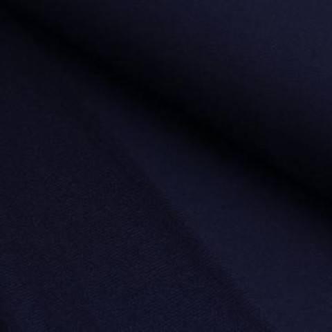 French Terry Uni aufgeraut - nachtblau im Makerist Materialshop
