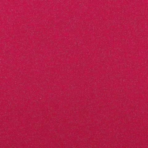 Sweatstoff fuchsia: Glitter - 145 cm im Makerist Materialshop
