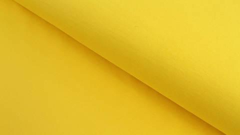 Baumwolljersey gelb uni - 160 cm im Makerist Materialshop