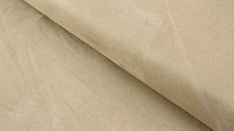 Velours-Lederimitat beige - 150 cm im Makerist Materialshop