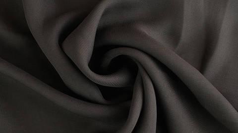 Chiffonstoff schwarz - 150 cm im Makerist Materialshop