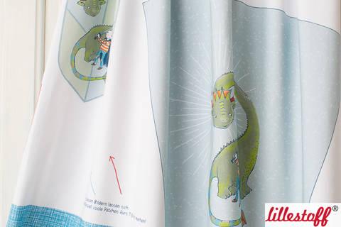 Lillestoff Rapport Bio-Jersey: Schultüte Drache - 160 cm im Makerist Materialshop
