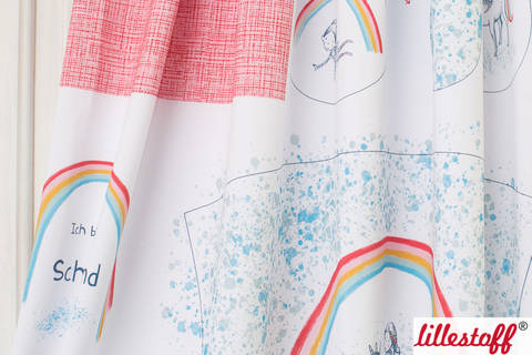 Lillestoff Rapport Bio-Jersey: Schultüte Einhorn - 160 cm im Makerist Materialshop