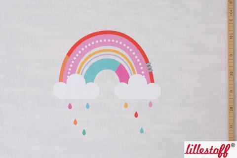 Lillestoff Rapport Bio-Jersey: Regenbogen - 160 cm im Makerist Materialshop