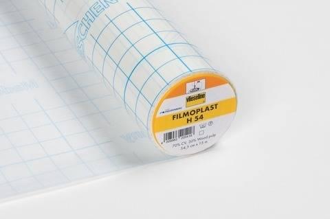 Vlieseline Haftmedien Filmoplast weiß: H54 selbstklebend - 54.5 cm im Makerist Materialshop