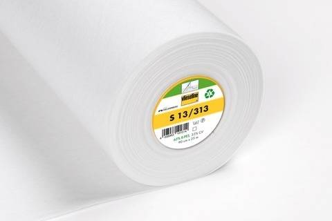 Vlieseline Näheinlage weiß zum Einnähen: S13 - 90 cm im Makerist Materialshop
