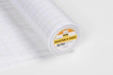 Vlieseline Patchworkeinlage weiß fixierbar: Quilter´s Grid - 112 cm im Makerist Materialshop