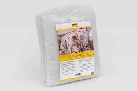 Vlieseline weißes Volumenvlies: P120 flammhemmend - 300x250 cm im Makerist Materialshop