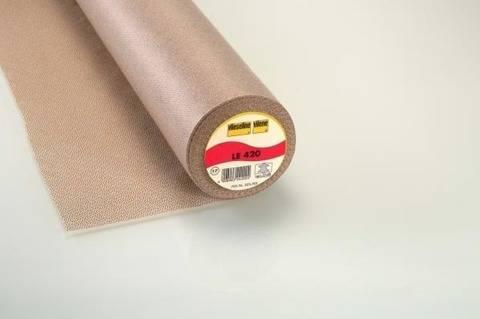Vlieseline Ledereinlage merino: LE 420 fixierbar - 90 cm im Makerist Materialshop