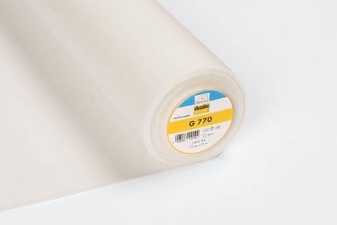 Vlieseline Gewebeeinlage ecru: G770 fixierbar - 75 cm im Makerist Materialshop