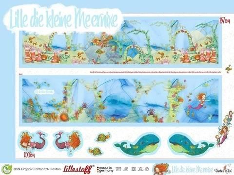 Lillestoff Rapport Slub Jersey: Lille, die kleine Meernixe - 150 cm im Makerist Materialshop