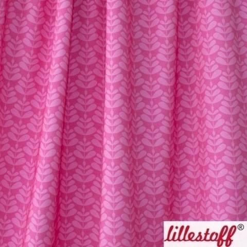 Lillestoff Bio-Jersey pink pink: Charlotta - 150 cm im Makerist Materialshop
