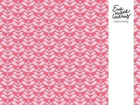 Lillestoff Bio-Jersey pink white: Charlotta - 150 cm im Makerist Materialshop